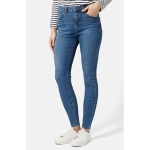 Topshop Moto | Cain High Rise Ankle Skinny Jeans
